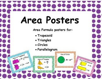 Area Posters