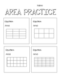 Area Practice - With and Without Tiling