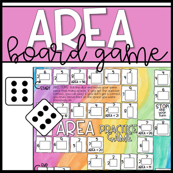 Area Practice Board Game