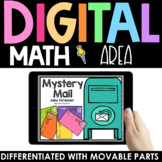 Area Practice - Digital - Interactive Math Google Slides