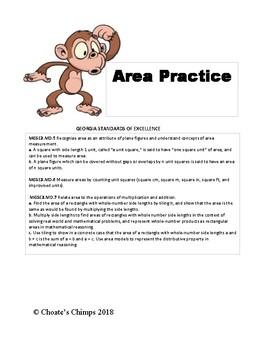Area Practice Sheet