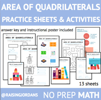 Area Practice Worksheet