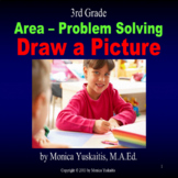 3rd Grade Area & Problem Solving - Draw a Picture Powerpoint Lesson