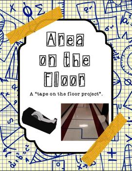 Area Project: Floor Tape Figures
