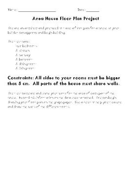 Area Project: House Floor Plan