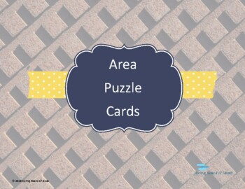 Model Area Puzzle Cards