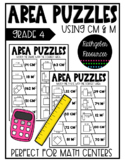 Area Puzzles with CM & M {Manitoba Math}