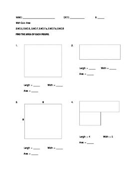 Area - Quiz