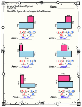Area Rectilinear Shapes