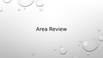 Area Review