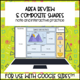 Area Review & Composite Figures for use with Google Slides
