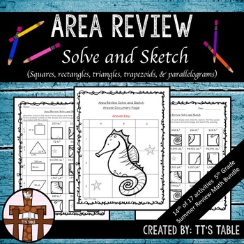 Area Review Solve & Sketch