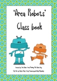 Area Robots Worksheet and Class Book Cover