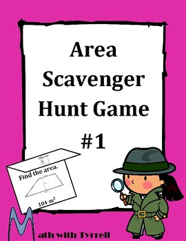 Area Scavenger Hunt Game #1
