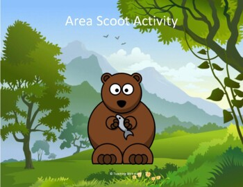 Area Scoot Activity/Task Cards
