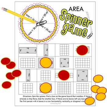 Area Spinner Games
