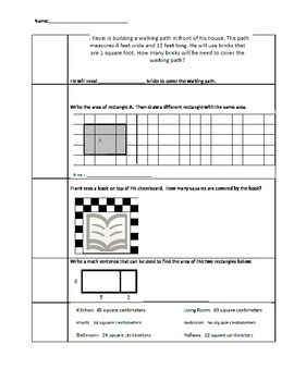 Area Standards Based Assessment