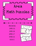 Area Task Card Puzzles