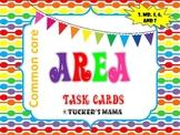 Area Task Cards 3rd Grade