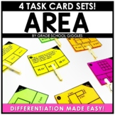 Area Task Cards For Third Grade