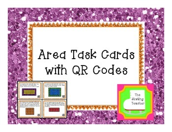 Area Task Cards - Math Center Activity