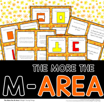 Area Task Cards - The More The M-Area (AU/UK)