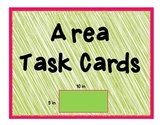 Area Task Cards for CCSS 3.MD.5-7