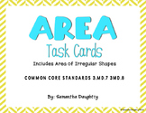 Area Task Cards with Images for Plickers!