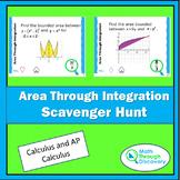 Calculus - Area Through Integration Scavenger Hunt