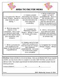 Area Tic-Tac-Toe Project