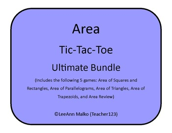 Area Tic-Tac-Toe - Ultimate Bundle