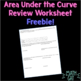 Area Under the Curve (with rectangles and trapezoids) Review