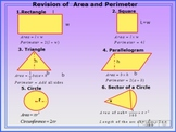 Area & Volume Presentation with Exercises and Answers