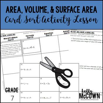 Area, Volume, & Surface Area