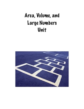 Area, Volume, and Large Numbers