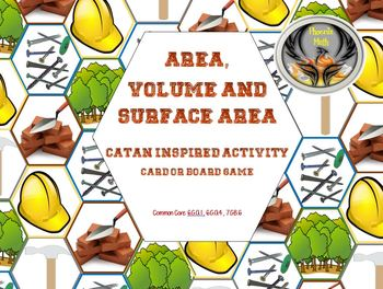 Area, Volume and Surface Area Catan