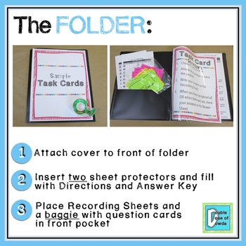 Area Word Problems Task Cards