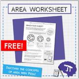 Area of Circles Worksheet FREE!
