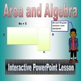 Area & Algebra for Sixth and Seventh Grade