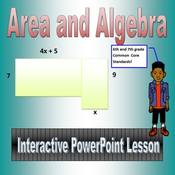 Area & Algebra for Sixth and Seventh Grade