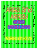 Area and Array Word Problems Progress Monitoring and Assessment Tool