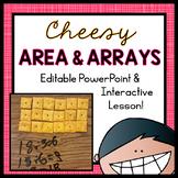 Area and Arrays PowerPoint (EDITABLE)