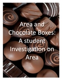 Area and Chocolate Boxes - a geometry project to apply area