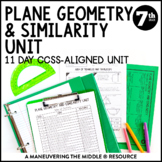 7th Grade Area, Circumference, Scale Drawings Unit: 7.G.1, 7.G.4, 7.G.6