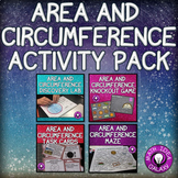 Area and Circumference Activities Bundle