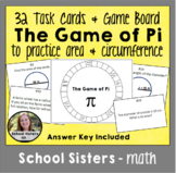 Area and Circumference Game of Pi