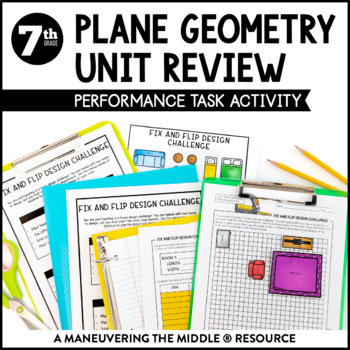Area and Circumference Performance Task
