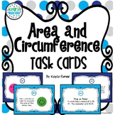 Area and Circumference Task Cards: 7.G.4