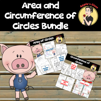 Area and Circumference of Circles Anchor Charts and Color by Number