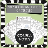 Distance Learning: Area and Circumference of Circles Corne